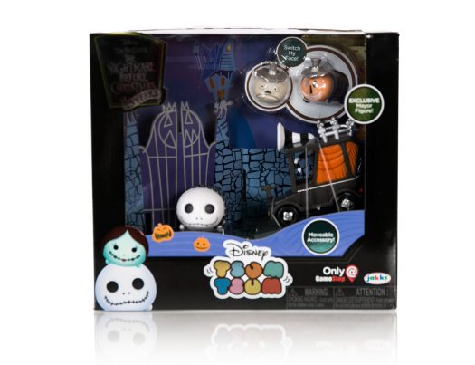 the nightmare before christmas tsum tsum gift set summer convention 2018 exclusive only at gamestop