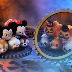 First Look at the new Halloween Reversible Tsum Tsum Collection Releasing at HKDL this Fall!