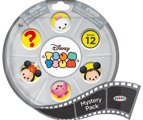 First Look at the upcoming Disney Tsum Tsum Bling Bag Series 12 by Jakks Pacific!