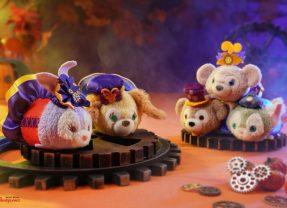 New Duffy and Friends Halloween Tsum Tsums Coming Soon to Hong Kong Disneyland!