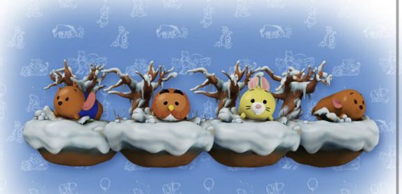 New Winnie the Pooh and Friends Seasonal Woods Winter Digital Tsum Tsums Released on the Quidd App!