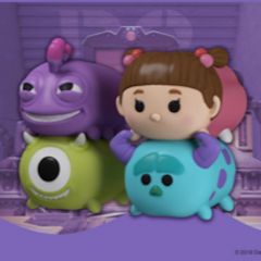 New Monsters, Inc. Tsum Tsums released on the Quidd App!