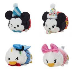 New Mickey 90th Anniversary Mickey and Friends Tsum Tsum Collection Released!