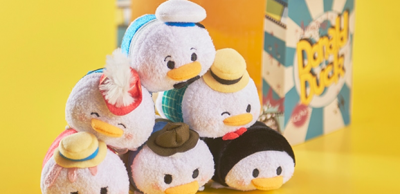 New Retro Donald Duck Tsum Tsum Set Coming Soon!