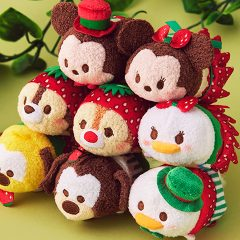 New Mickey and Friends Strawberries Tsum Tsum Collection Coming Soon to Japan!