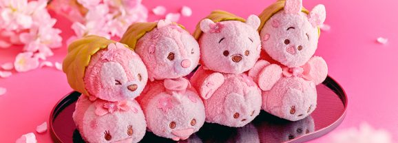 New Mickey and Friends Sakura Tsum Tsum Collection Coming Soon to Japan!
