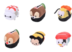 New Sushi Disney Tsum Tsum Collection Released!
