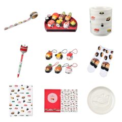 Previews of the new Sushi Disney Tsum Tsum Pens, Vinyls, Socks and More!