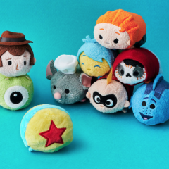 New Reversible Pixar Tsum Tsum Collection Coming Soon!