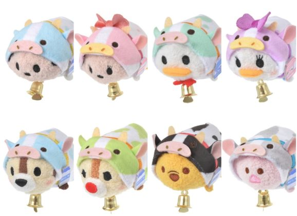 New Chinese Zodiac: Year of the Ox Tsum Tsum Collection Coming soon!