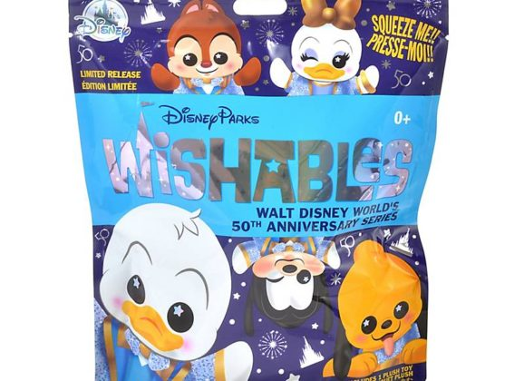First Look at the new WDW 50th Anniversary Wishables Series!